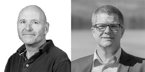 Jørgen Rasmussen og Niels Lund