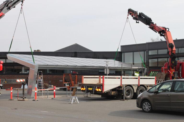 carport montering